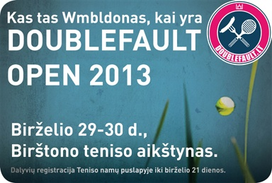 Doublefault Open 2013