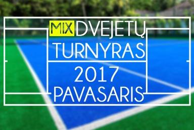 TenisoNamai.lt Pavasario MIX dvejetų 2017 turnyras