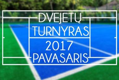 TenisoNamai.lt Pavasario dvejetų 2017 turnyras