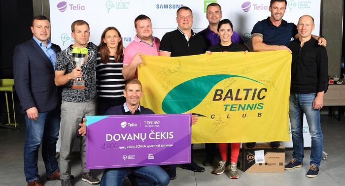 2017 m. sezono nugalėtojai - Baltic Tennis Club iš Klaipėdos