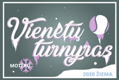 TenisoNamai.lt Moterų Žiemos 2020 turnyras