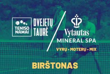 Vytautas Mineral SPA turnyras 2021